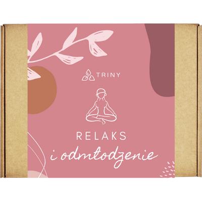 Zestaw kosmetyków dla cery dojrzałej - Relaks i odmłodzenie By Triny