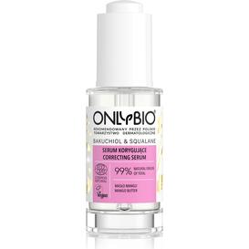OnlyBio Serum korygujące - Bakuchiol&Skwalan, 30 ml