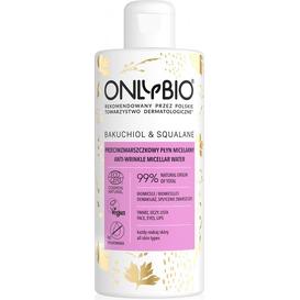 OnlyBio Przeciwzmarszczkowy płyn micelarny - Bakuchiol&Skwalan, 300 ml