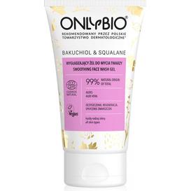 OnlyBio Wygładzający żel do mycia twarzy - Bakuchiol&Skwalan, 150 ml