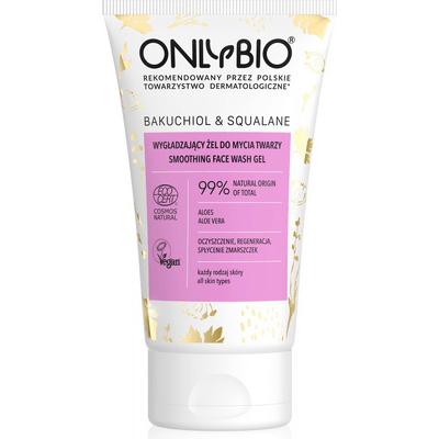 Wygładzający żel do mycia twarzy - Bakuchiol&Skwalan OnlyBio