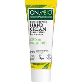 OnlyBio Regenerujący krem do rąk z olejkiem CBD, 75 ml