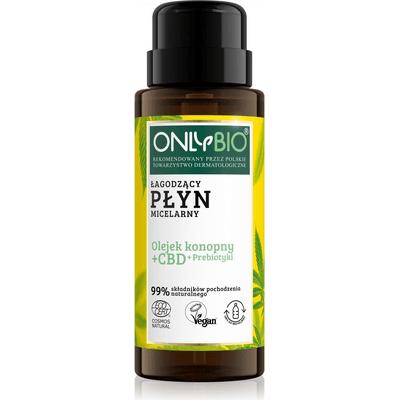 Łagodzący płyn micelarny z olejkiem CBD OnlyBio