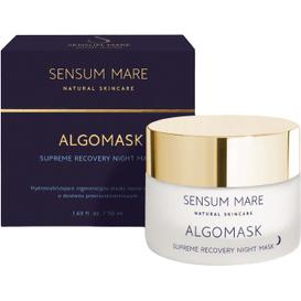 Sensum Mare Algomask - Hydrostabilizująco - regeneracyjna maska nocna, 50 ml