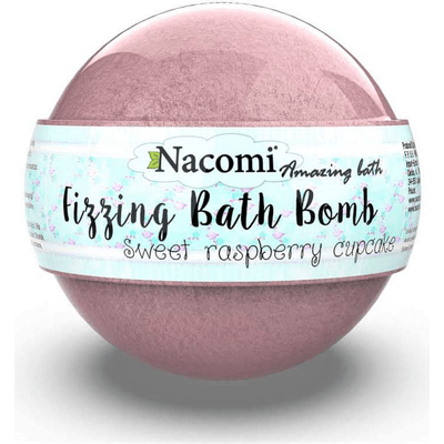 Musująca kula do kąpieli - Malina Nacomi
