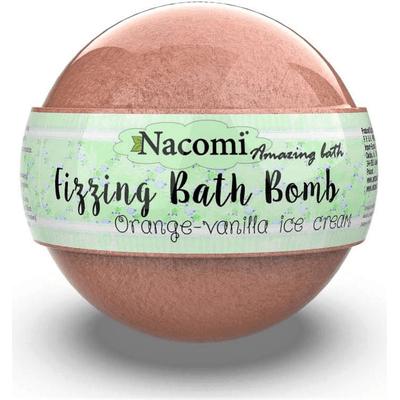 Musująca kula do kąpieli - Pomarańcza i wanilia Nacomi