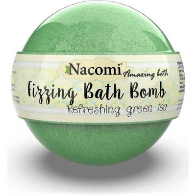 Musująca kula do kąpieli - Zielona herbata Nacomi