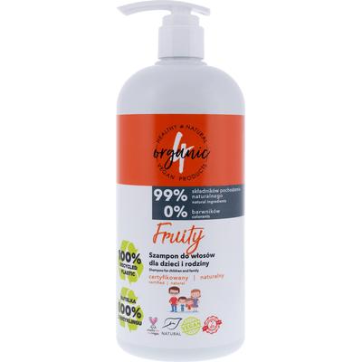 Szampon do włosów dla dzieci i rodziny - Fruity 4organic