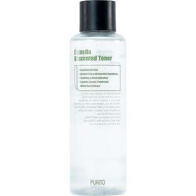 Centella Green Level Calming Toner - Bezzapachowy toner z ekstraktem z wąkroty azjatyckiej Purito