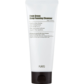 Purito From Green Deep Foaming Cleanser - Dogłębnie oczyszczająca pianka myjąca, 150 ml