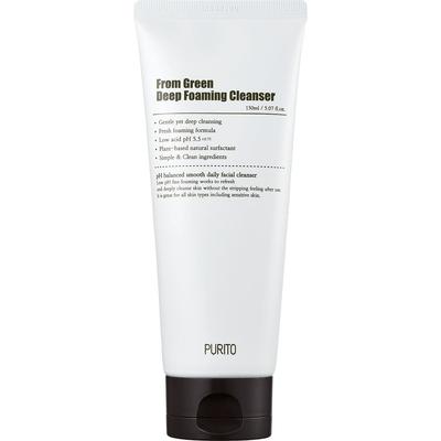 From Green Deep Foaming Cleanser - Dogłębnie oczyszczająca pianka myjąca Purito