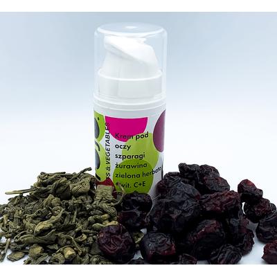 Krem pod oczy - Szparagi-żurawina-zielona herbata Frojo