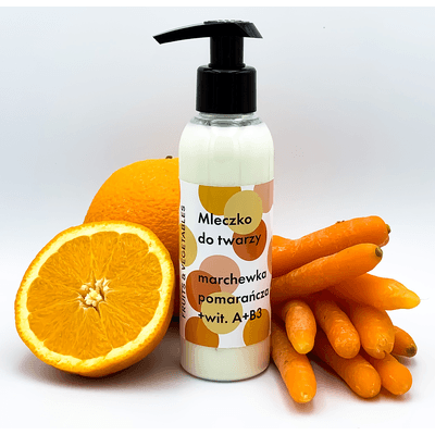 Mleczko do twarzy - Marchewka-pomarańcza Frojo