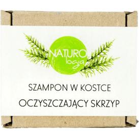 Naturologia Szampon w kostce - Oczyszczający Skrzyp, 70 g