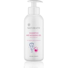Naturativ Szampon i żel myjący dla dzieci i noworodków - mały, 250 ml