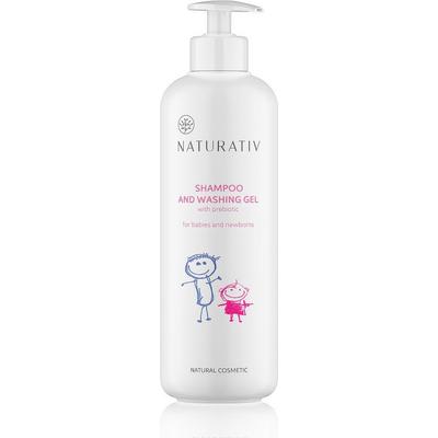 Szampon i żel myjący dla dzieci i noworodków - duży Naturativ