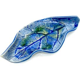 By Triny Podstawka do palo santo - Niebieski z zielenią
