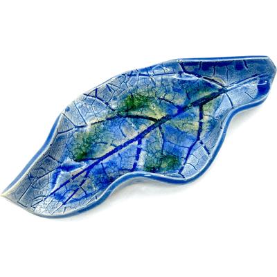 Podstawka do palo santo - Niebieski z zielenią By Triny