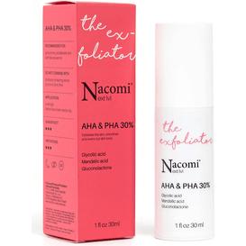 Nacomi Next Level - Peeling kwasowy z 30% kompleksem kwasów AHA i PHA, 30 ml