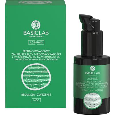Peeling kwasowy zmniejszający niedoskonałości - Redukcja i zwężenie BasicLab