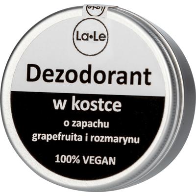 Dezodorant w kostce o zapachu grapefruita i rozmarynu La-Le Kosmetyki