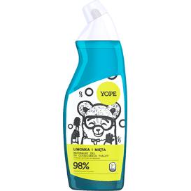 Yope Żel do czyszczenia toalet - Limonka i mięta, 750ml