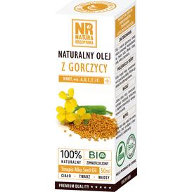 Natura Receptura Naturalny olej z gorczycy, 50 ml