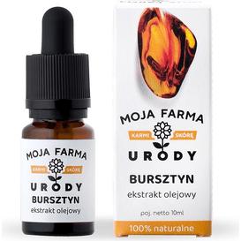 Moja Farma Urody Bursztyn - ekstrakt olejowy, 10 ml