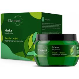 Element Maska regenerująco-wzmacniająca ekstrakt - Bazylia i argan, 200 ml