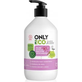 OnlyBio Hipoalergiczny płyn do mycia naczyń z pompką, 500 ml