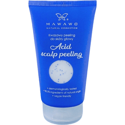 Kwasowy peeling do skóry głowy Mawawo