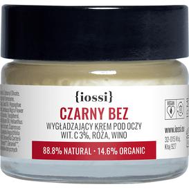 IOSSI Czarny Bez - Wygładzający krem pod oczy, 15 ml