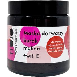 Frojo Maska do twarzy - Burak-malina, 120 ml