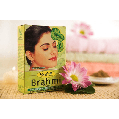 Wzmacniająca maska do włosów - Brahmi Hesh