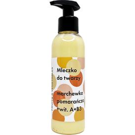 Frojo Mleczko do twarzy - Marchewka-pomarańcza, 150 ml