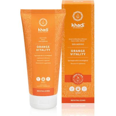 Szampon do włosów przetłuszczających się - Nutgrass - Pomarańcza Khadi