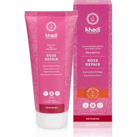 Khadi Odżywczy szampon do włosów - Róza, 200 ml