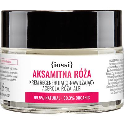 Aksamitna Róża - Krem regenerująco-nawilżający IOSSI