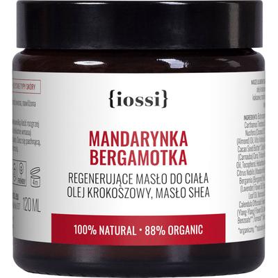 Mandarynka Bergamotka - Aromatyczne masło do ciała z olejem krokoszowym IOSSI
