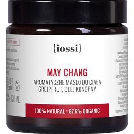 IOSSI May Chang - Aromatyczne masło do ciała z olejem konopnym (data ważności: 31.10.2021), 120 ml