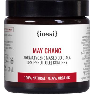 May Chang - Aromatyczne masło do ciała z olejem konopnym IOSSI