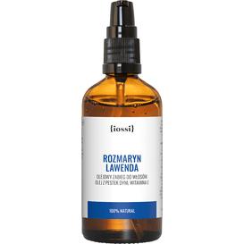 IOSSI Rozmaryn Lawenda - Wzmacniający olej do włosów, 100 ml
