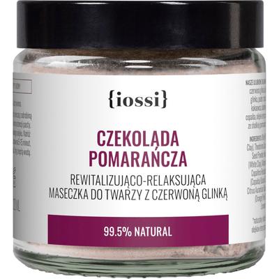 Czekolada Pomarańcza - Rewitalizujaco - relaksująca maseczka z glinki IOSSI