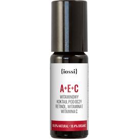 IOSSI A+E+C - Witaminowy koktajl pod oczy z retinolem, 10 ml