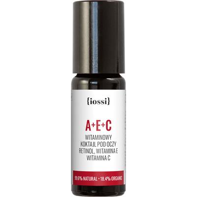 A+E+C - Witaminowy koktajl pod oczy z retinolem IOSSI