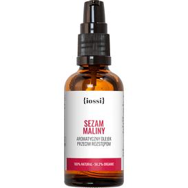 IOSSI Sezam Maliny - Olejek przeciw rozstępom w ciąży, 50 ml