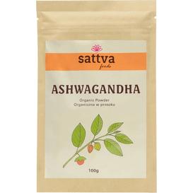 Sattva Ayurveda Organiczna Ashwagandha w proszku, 100 g