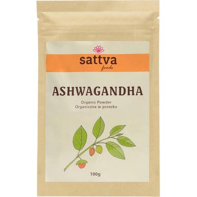 Organiczna Ashwagandha w proszku Sattva Ayurveda