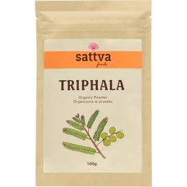 Sattva Ayurveda Organiczna Triphala w proszku, 100 g