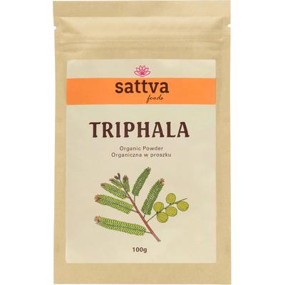 Organiczna Triphala w proszku Sattva Ayurveda